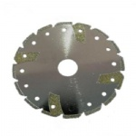 Electroplated Diamond Blade Shark Fin Shape Cooling Hole