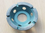 Diamond Cup Wheel With Single Row For Stone And Concrete