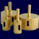 Vacuum Brazed Diamond Core Bits