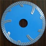 Turbo Cutting Blades with Protection Teeth